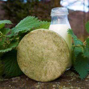 Nettle and Oat natural hand made soap bar