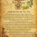 Nettle & Oat Natural Soap Image