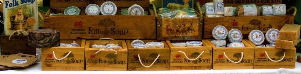 Folk Soap Market Stall