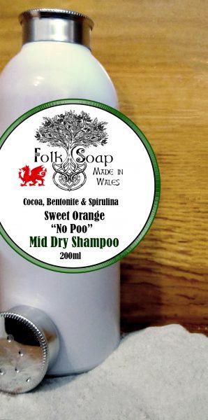 Mid Hair dry shampoo for Brunettes