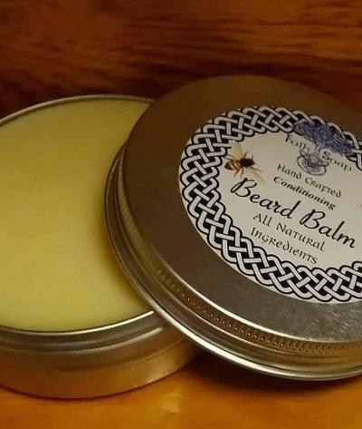 Natural Conditioning Beard Balm with Shea Butter & Avocado