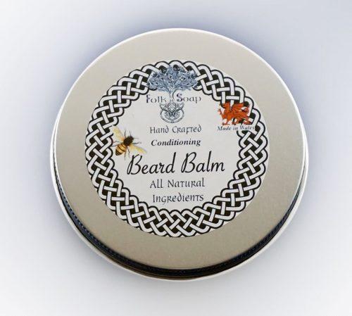 Natural Conditioning Beard Balm with Shea Butter & Avocado